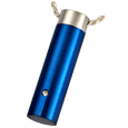 Stainless Steel Royal Blue Cylinder
