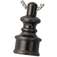Steadfast Black Mini Urn