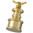 Steadfast Mini Brass Urn Pendant